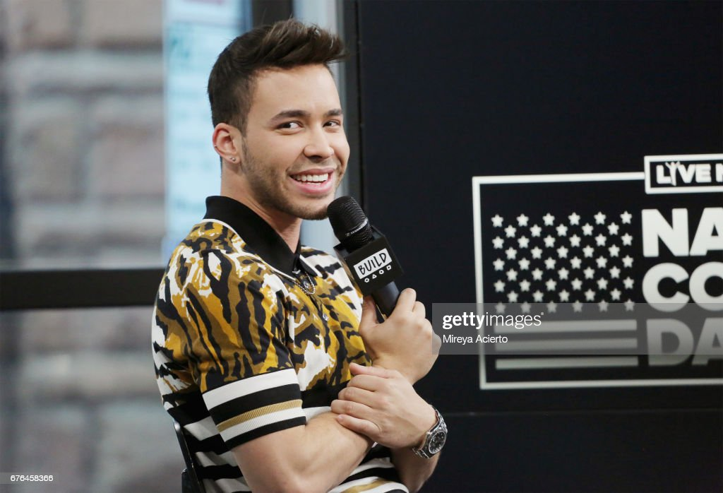 Singer/songwriter, Prince Royce visits Build Presents to discuss National Concert Day at Build Studio on May 2, 2017 in New York City.