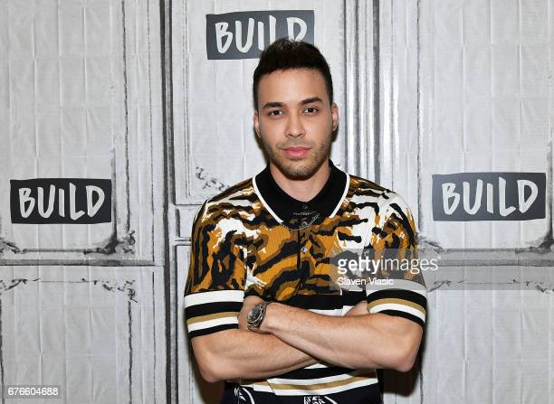 Singer/songwriter Prince RoyceÊvisits Build Sries to discuss National Concert Day produced by LiveNation at Build Studio on May 2 2017 in New York...