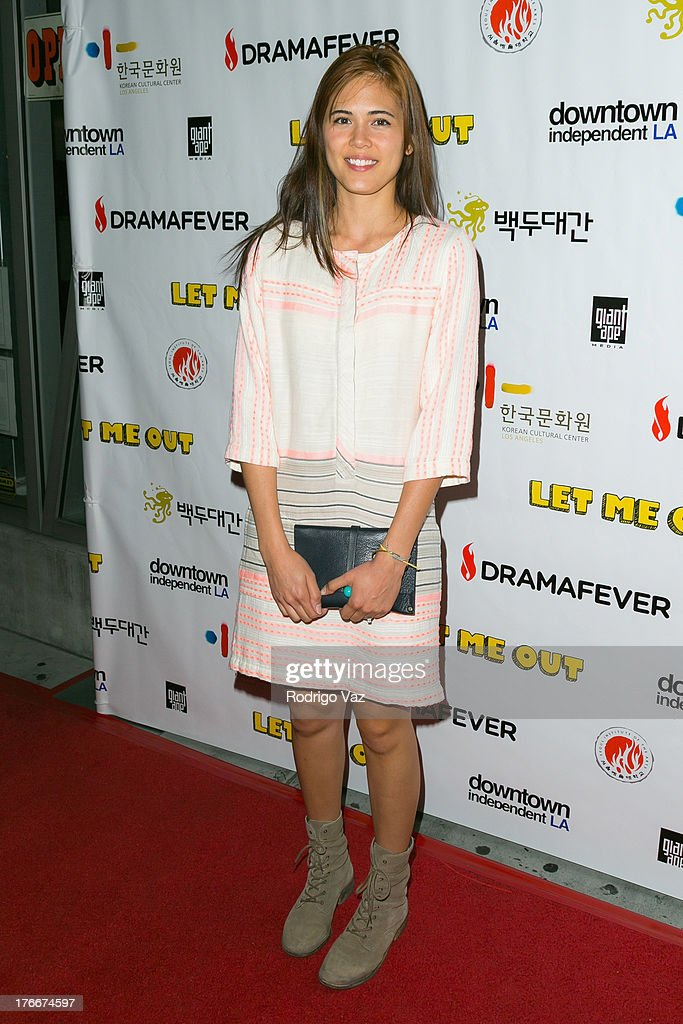 Singer/songwriter Priscilla Ahn attends 'Let Me Out' Los Angeles Premiere at Downtown Independent Theatre on August 16, 2013 in Los Angeles, California.