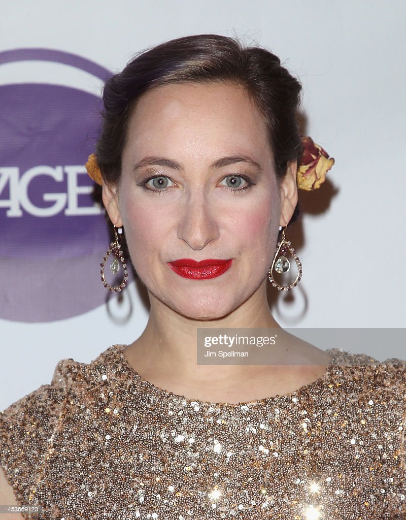 Singer/songwriter Rachael Sage attends the Women In Music presents their 2013 holiday party at Le Poisson Rouge on December 4, 2013 in New York City.