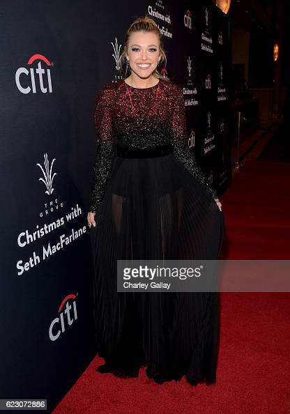 Singer/songwriter Rachel Platten attends The Grove Christmas with Seth MacFarlane Presented by Citi at The Grove on November 13 2016 in Los Angeles...