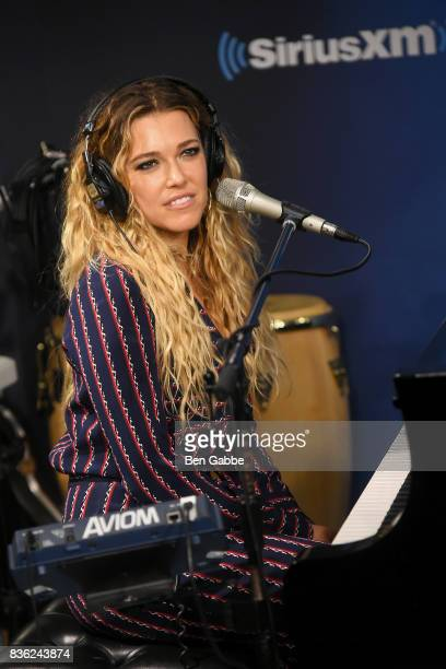 Singer/songwriter Rachel Platten performs at SiriusXM Studios on August 21 2017 in New York City