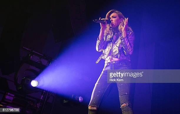 Singersongwriter Rachel Platten performs in concert at Emo's on February 27 2016 in Austin Texas