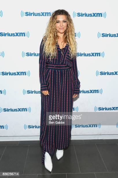 Singer/songwriter Rachel Platten visits SiriusXM Studios on August 21 2017 in New York City