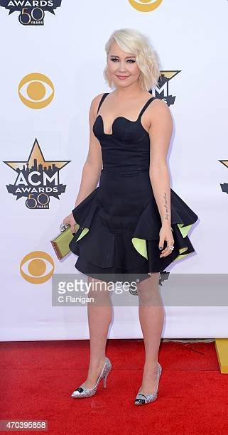 Singersongwriter RaeLynn attends the 50th Academy Of Country Music Awards at ATT Stadium on April 19 2015 in Arlington Texas