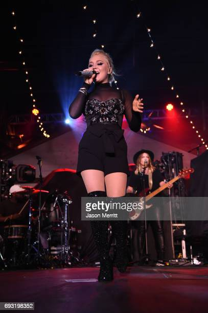 Singersongwriter RaeLynn performs onstage during Pandora Sounds Like Country at Marathon Music Works on June 6 2017 in Nashville Tennessee