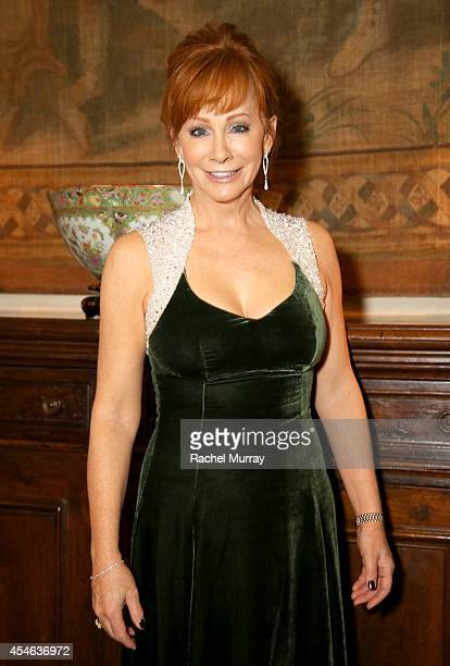 Singer/Songwriter Reba McEntire attends a cocktail reception held at Palazzo Spini Feroni built in the 13th Century and home to the Museo Salvatore...