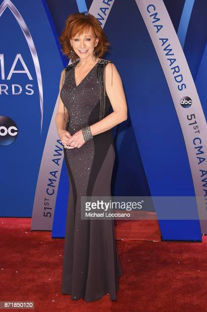 Singersongwriter Reba McEntire attends the 51st annual CMA Awards at the Bridgestone Arena on November 8 2017 in Nashville Tennessee