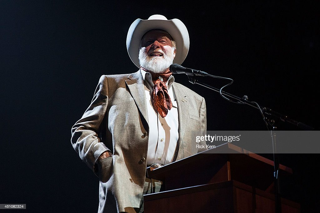 Singer-songwriter Red Steagall hosts the 9th Annual Texas Heritage Songwriters' Hall of Fame Awards Show at ACL Live on June 22, 2014 in Austin, Texas.
