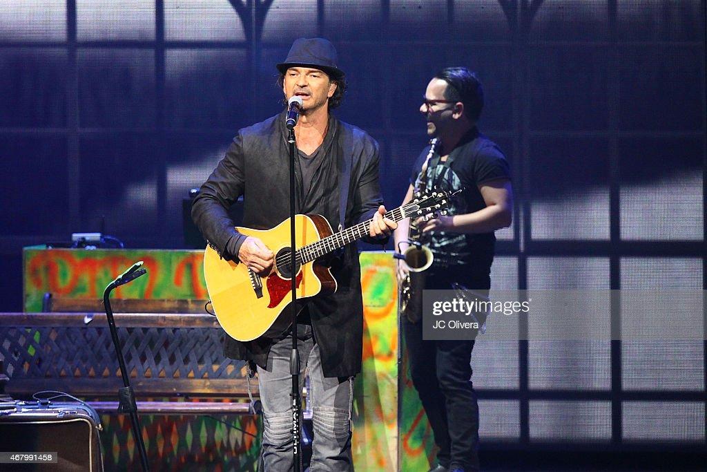 Ricardo Arjona Performs At The Nokia Theatre L.A. Live