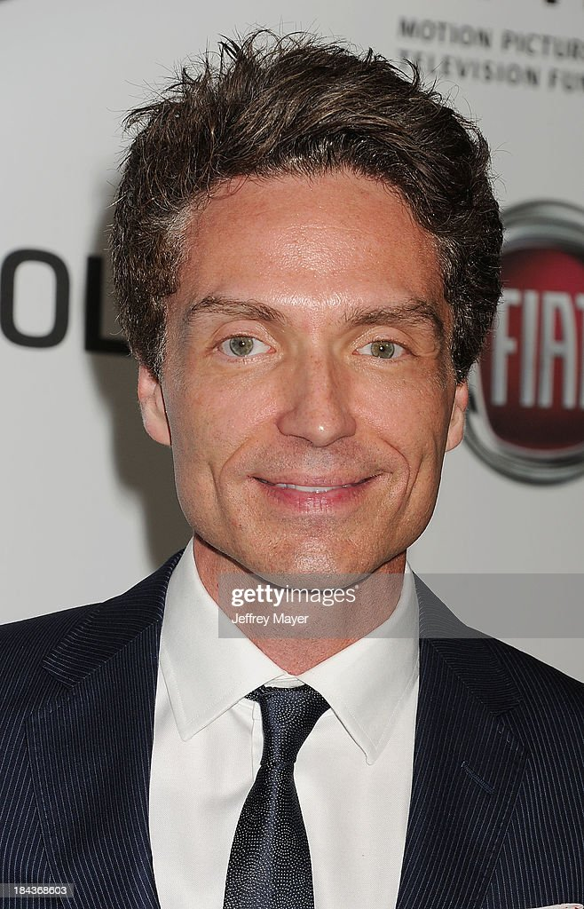 Singer/songwriter Richard Marx arrives at Hugh Jackman: One Night Only Benefiting The Motion Picture & Television Fund at the Dolby Theater on October 12, 2013 in Hollywood, California.