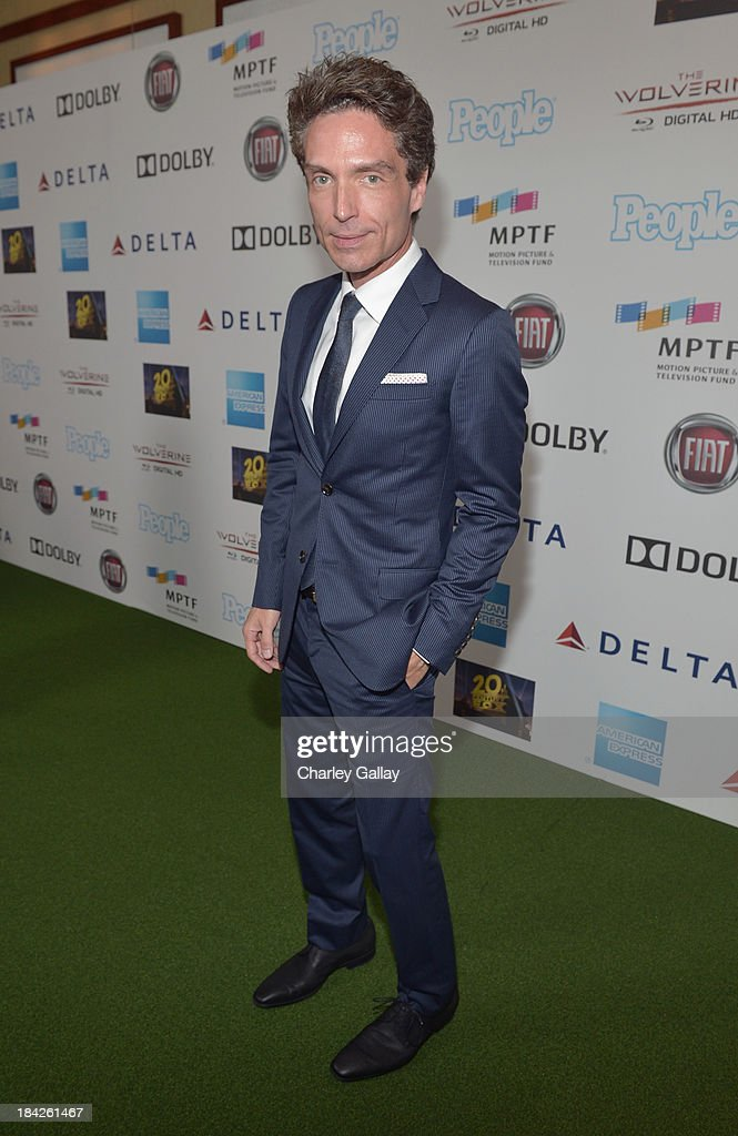 Singer-songwriter Richard Marx attends 'Hugh Jackman... One Night Only' Benefiting MPTF at Dolby Theatre on October 12, 2013 in Hollywood, California.