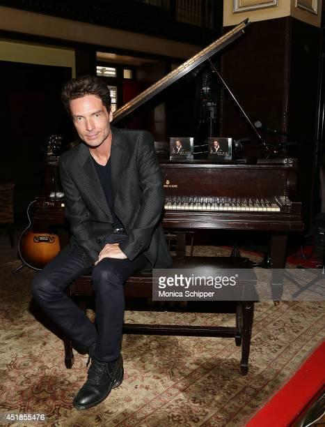 Singersongwriter Richard Marx attends The Moms Mamarazzi Event Celebrating Richard Marx's New Album 'Beautiful Goodbye' at Millesime on July 8 2014...