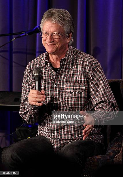 Singer/songwriter Richie Furay speaks onstage at An Evening With Richie Furay at The GRAMMY Museum on February 25 2015 in Los Angeles California