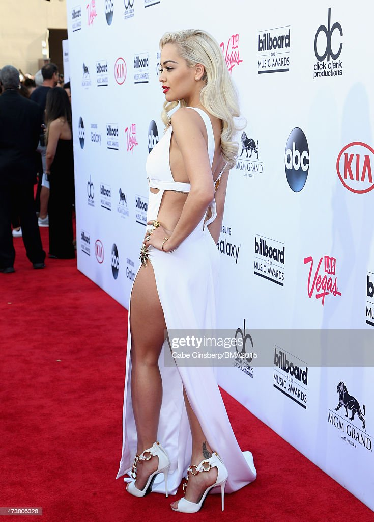 Singer/songwriter Rita Ora attends the 2015 Billboard Music Awards with Kia Motors at MGM Grand Garden Arena on May 17 2015 in Las Vegas Nevada