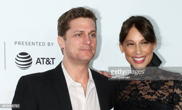 Singer/songwriter Rob Thomas and Marisol Maldonado attend the 2017 Tribeca Film Festival 'Clive Davis The Soundtrack Of Our Lives' world premiere...