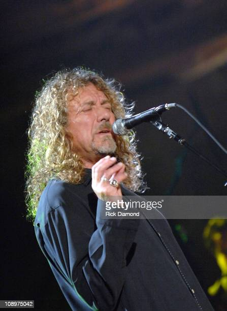 Singer/Songwriter Robert Plant at the taping of there CMT Crossroads ROBERT PLANT AND ALISON KRAUSS premieres Monday February 11 at 800 pm – 900 pm...