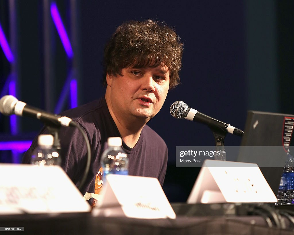 Singer-songwriter Ron Sexsmith speaks onstage at 50 Years of the Beatles during the 2013 SXSW Music, Film + Interactive Festival at Austin Convention Center on March 14, 2013 in Austin, Texas.