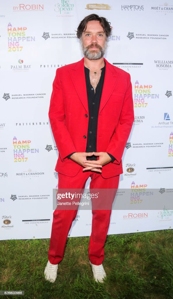 Singer-Songwriter Rufus Wainwright attends Samuel Waxman Cancer Research Foundation 13th Annual Hamptons Happening at a Private Residence on August 5, 2017 in Bridgehampton, New York.