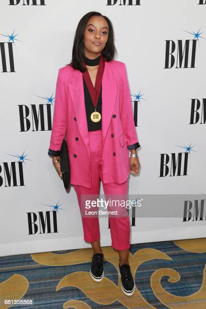 Singer/Songwriter Ruth B arrives at the 65th Annual BMI Pop Awards at the Beverly Wilshire Four Seasons Hotel on May 9 2017 in Beverly Hills...
