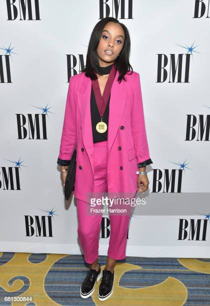 Singersongwriter Ruth B at the Broadcast Music Inc honors Barry Manilow at the 65th Annual BMI Pop Awards on May 9 2017 in Los Angeles California