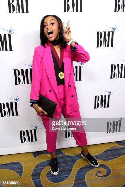 Singersongwriter Ruth B attends the 65th Annual BMI Pop Awards at the Beverly Wilshire Four Seasons Hotel on May 9 2017 in Beverly Hills California