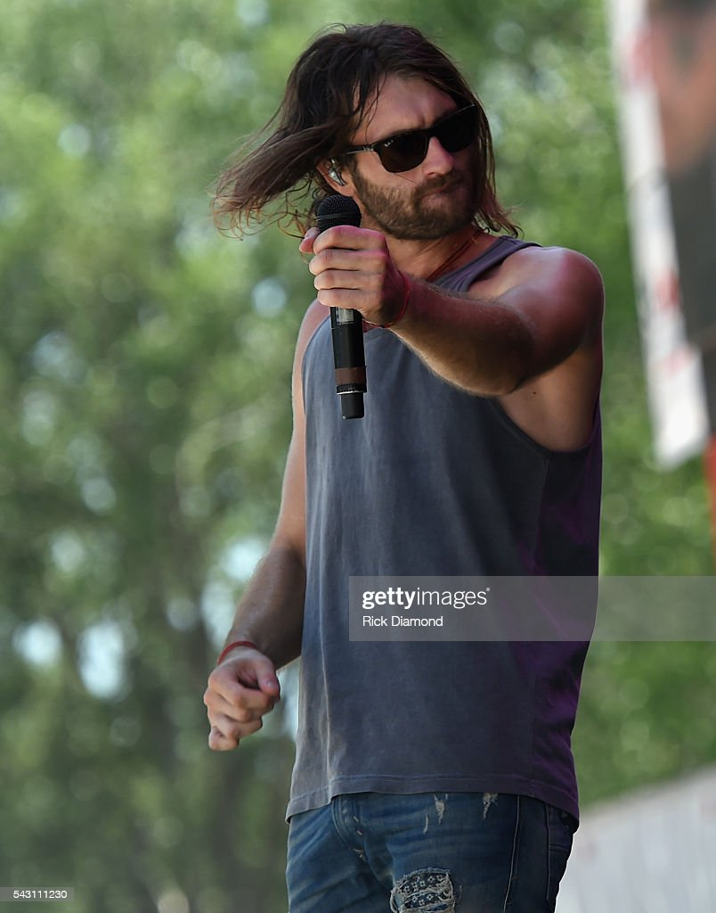 Singer/Songwriter Ryan Hurd performs at Kicker Country Stampede Manhattan, Kansas - Day 3 on June 25, 2016 in Manhattan, Kansas.