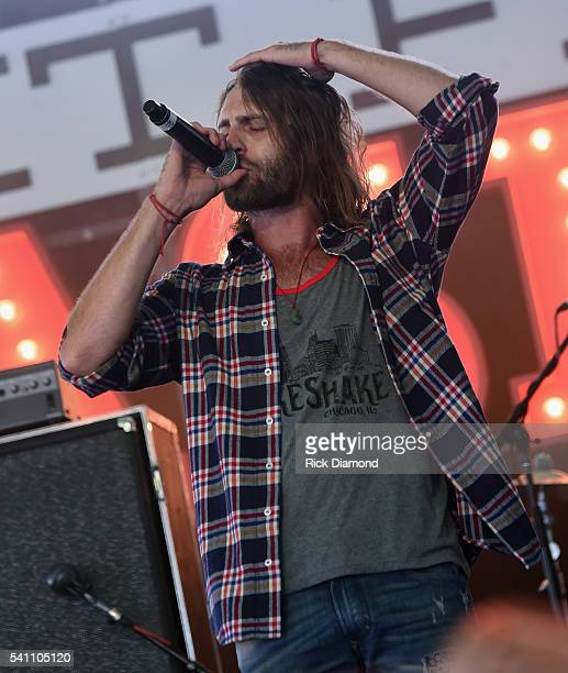 Singer/Songwriter Ryan Hurd performs during 2016 Windy City LakeShake Country Music Festival Day 2 at FirstMerit Bank Pavilion at Northerly Island on...