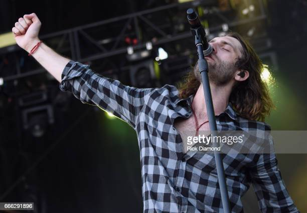 Singer/Songwriter Ryan Hurd performs on Day 3 Country Thunder Music Festival Arizona April 8 2017 in Florence Arizona