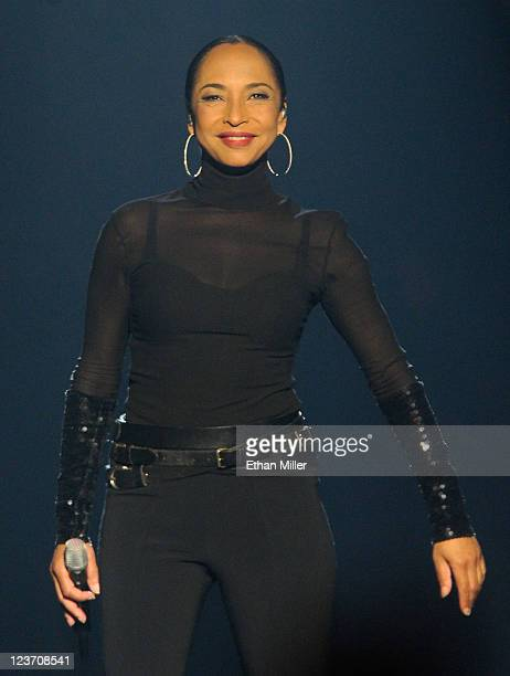 Singer/songwriter Sade performs at the MGM Grand Garden Arena September 3 2011 in Las Vegas Nevada