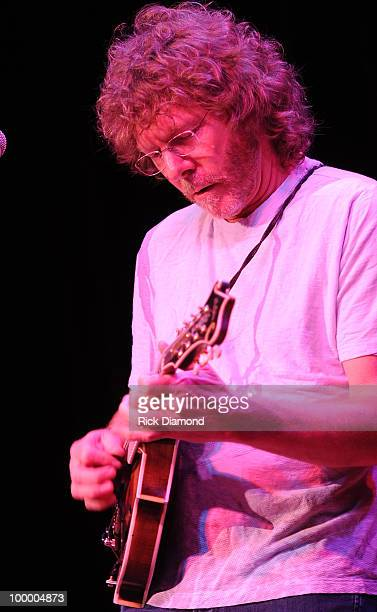 Singer/Songwriter Sam Bush performs during the 'Music Saves Mountains' benefit concert at the Ryman Auditorium on May 19 2010 in Nashville Tennessee