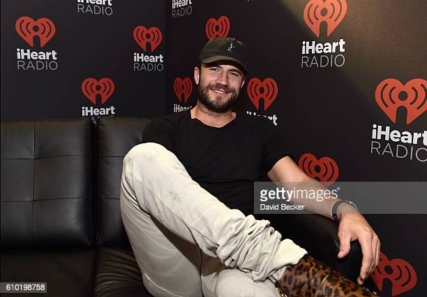 Singersongwriter Sam Hunt attends the 2016 Daytime Village at the iHeartRadio Music Festival at the Las Vegas Village on September 24 2016 in Las...