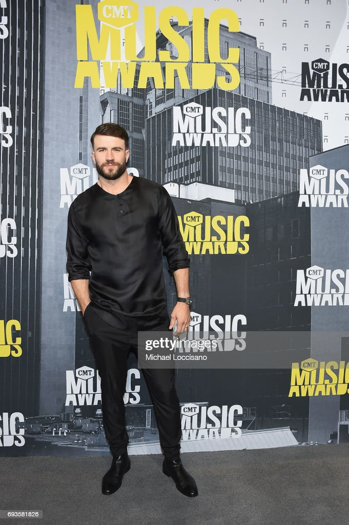 Singer-songwriter Sam Hunt attends the 2017 CMT Music Awards at the Music City Center on June 7, 2017 in Nashville, Tennessee.