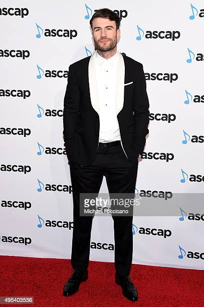 Singersongwriter Sam Hunt attends the 53rd annual ASCAP Country Music awards at the Omni Hotel on November 2 2015 in Nashville Tennessee