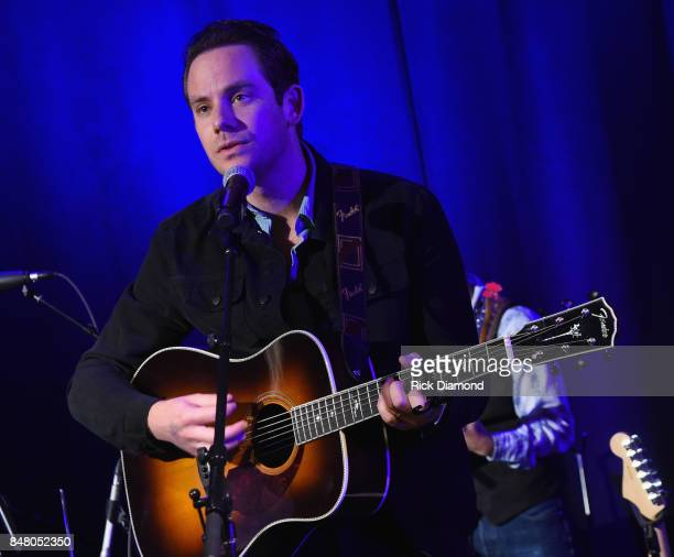 Singer/Songwriter Sam Outlaw performs during 18th Annual Americana Music Festival Conference Mike Judge Presents Tales From The Tour Bus Series...