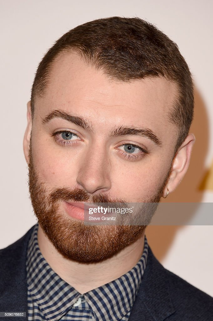 Singer/songwriter <a gi-track='captionPersonalityLinkClicked' href=/galleries/search?phrase=Sam+Smith+-+Singer&family=editorial&specificpeople=12336931 ng-click='$event.stopPropagation()'>Sam Smith</a> attends the 88th Annual Academy Awards nominee luncheon on February 8, 2016 in Beverly Hills, California.
