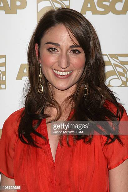 Singersongwriter Sara Bareilles arrives at the 2008 ASCAP Pop Awards at the Kodak Theatre on April 9 2008 in Hollywood California