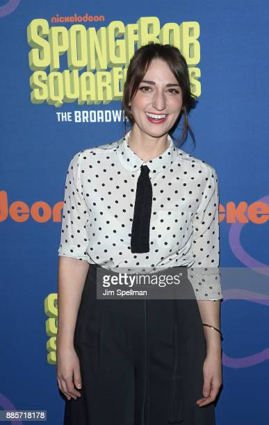 Singer/songwriter Sara Bareilles attends the'Spongebob Squarepants' Broadway opening night at Palace Theatre on December 4 2017 in New York City