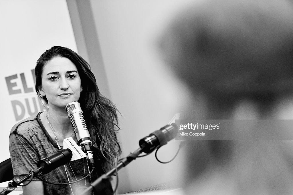 Singer/songwriter Sara Bareilles visits 'The Elvis Duran Z100 Morning Show' at Z100 Studio on August 24, 2016 in New York City.