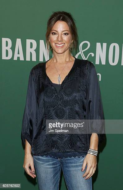 Singer/songwriter Sarah McLachlan signs copies of her new album 'Wonderland' at Barnes Noble 5th Avenue on November 25 2016 in New York City
