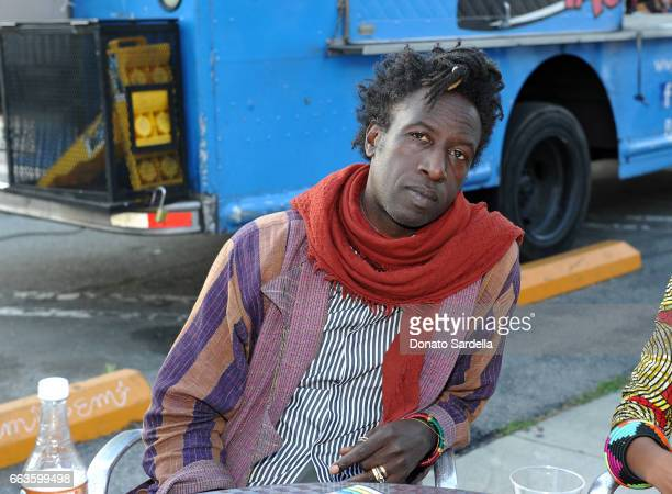 Singersongwriter Saul Williams attends MOCA's Leadership Circle and Members' Opening of 'Carl Andre Sculpture as Place 19582010' and 'Arthur Jafa...