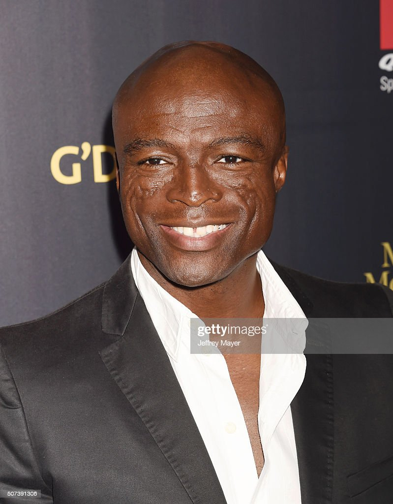 Singer/songwriter <a gi-track='captionPersonalityLinkClicked' href=/galleries/search?phrase=Seal+-+Singer&family=editorial&specificpeople=202832 ng-click='$event.stopPropagation()'>Seal</a> arrives at the 2016 G'Day Los Angeles Gala at Vibiana on January 28, 2016 in Los Angeles, California.