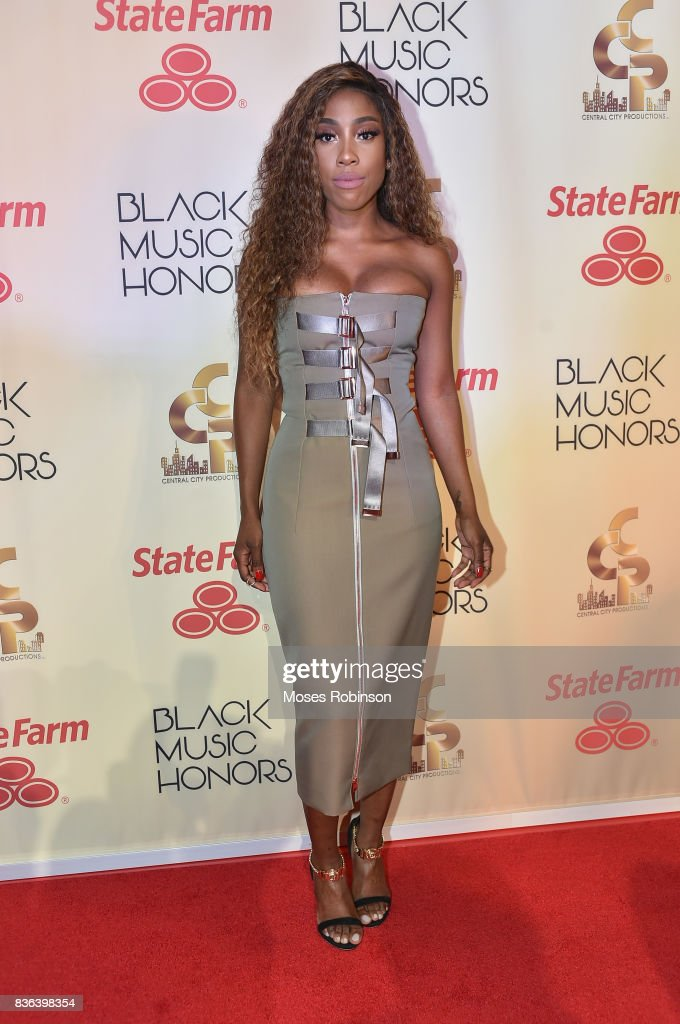 Singer-songwriter Sevyn Streeter arrives at the 2017 Black Music Honors at Tennessee Performing Arts Center on August 18, 2017 in Nashville, Tennessee
