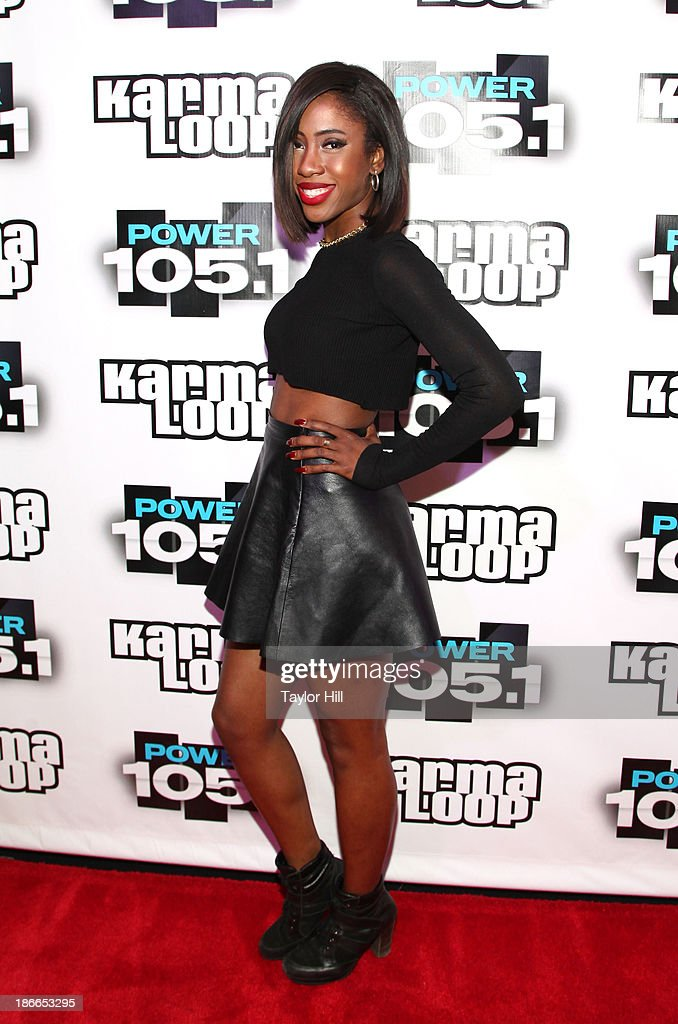 Singer-songwriter Sevyn Streeter attends Power 105.1's Powerhouse 2013, presented by Play GIG-IT, at Barclays Center on November 2, 2013 in New York City.