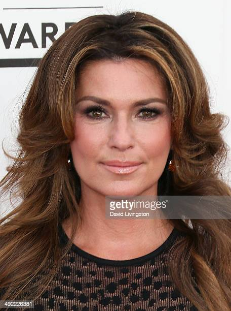 Singer/songwriter Shania Twain attends the 2014 Billboard Music Awards at the MGM Grand Garden Arena on May 18 2014 in Las Vegas Nevada