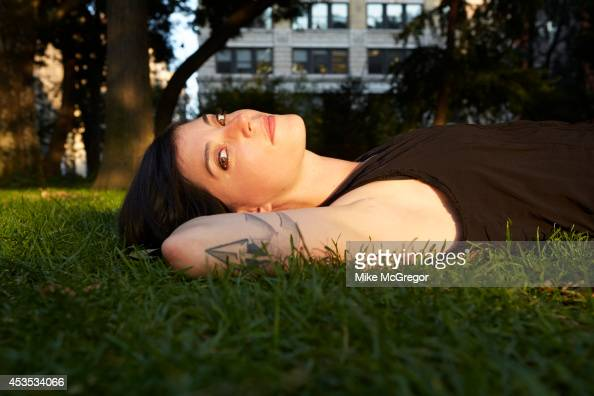 Singer/songwriter Sharon Van Etten is photographed for The Observer Newspaper on August 4 2014 in New York City PUBLISHED IMAGE