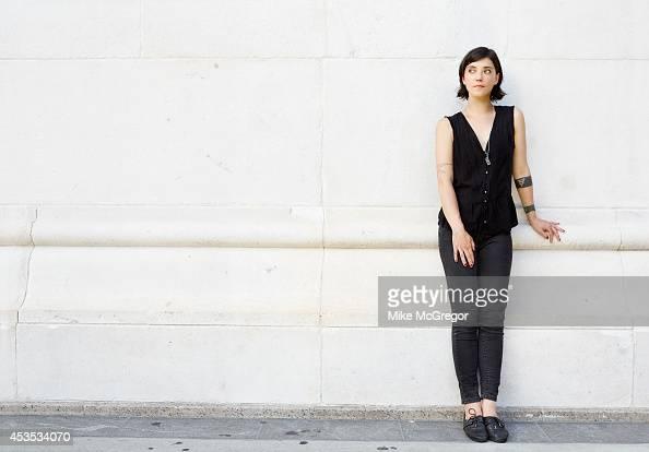 Singer/songwriter Sharon Van Etten is photographed for The Observer Newspaper on August 4 2014 in New York City