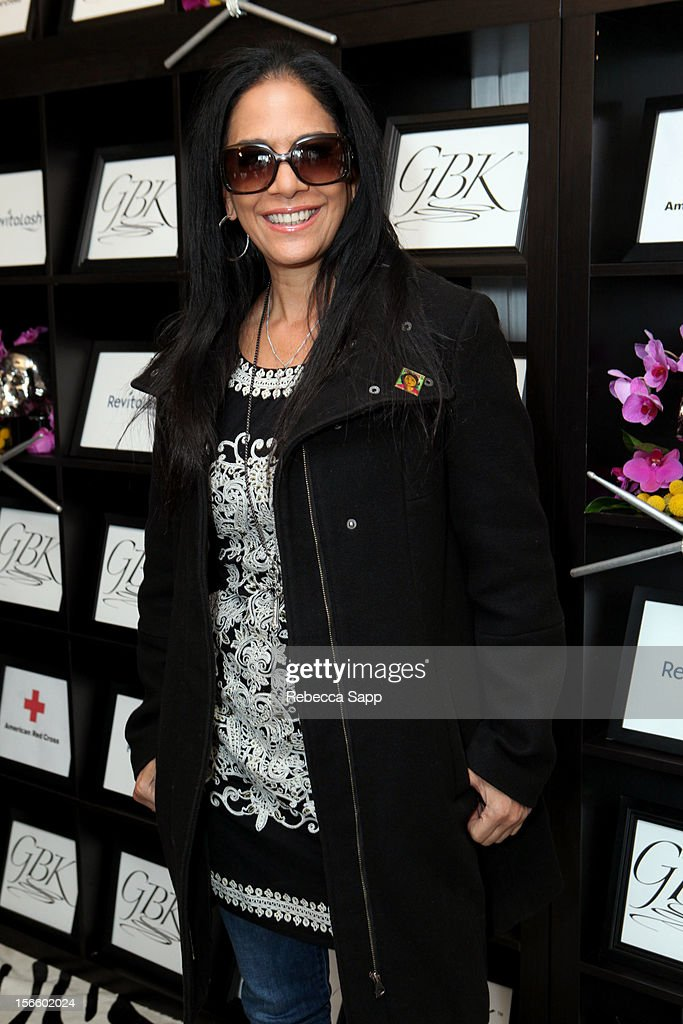 Singer/songwriter Sheila E. arrives at GBK Musical Lounge With Invited Nominees And Presenters Of The American Music Awards - Day 1 at Andaz on November 16, 2012 in West Hollywood, California.