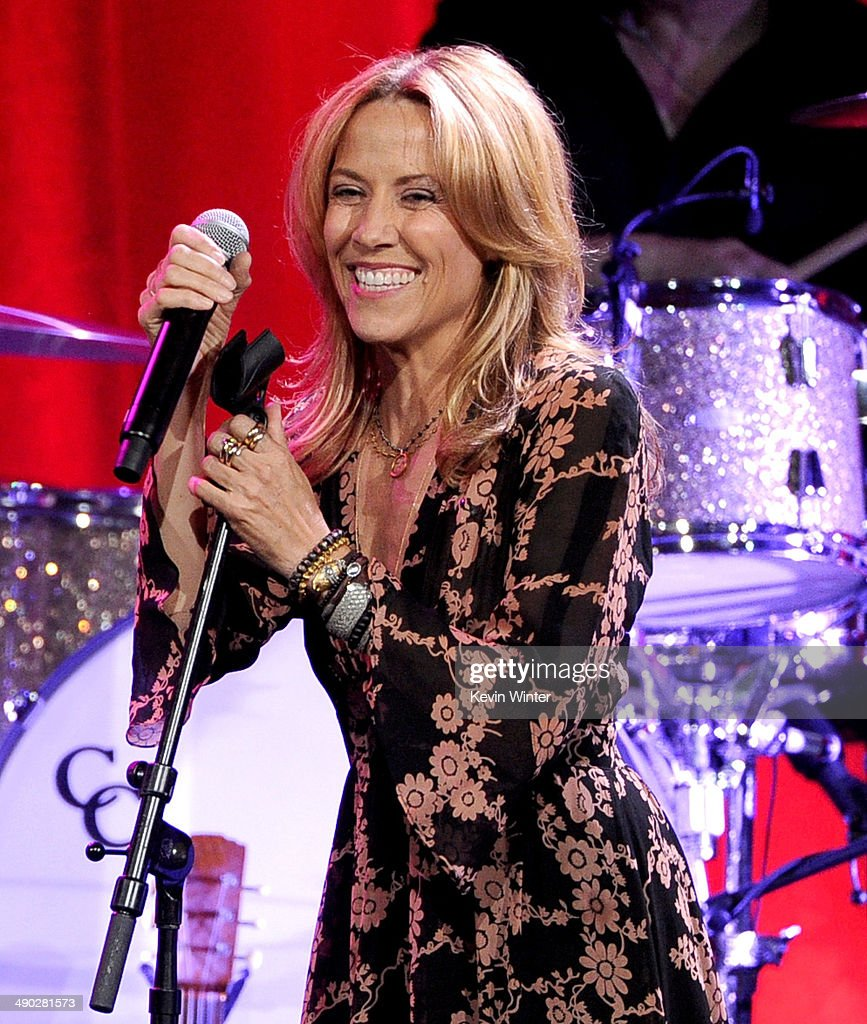 Singer-songwriter <a gi-track='captionPersonalityLinkClicked' href=/galleries/search?phrase=Sheryl+Crow&family=editorial&specificpeople=201867 ng-click='$event.stopPropagation()'>Sheryl Crow</a> performs onstage at the 62nd annual BMI Pop Awards at the Regent Beverly Wilshire Hotel on May 13, 2014 in Beverly Hills, California.