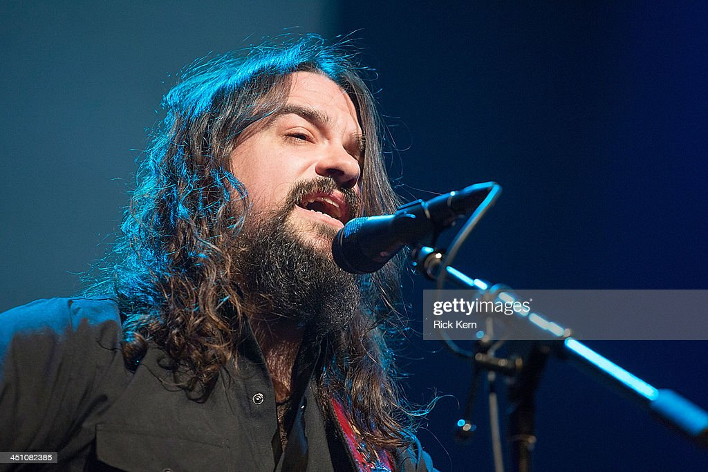 Singer-songwriter Shooter Jennings performs in concert as part of the 9th Annual Texas Heritage Songwriters' Hall of Fame Awards Show at ACL Live on June 22, 2014 in Austin, Texas.